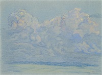 ciel (2 studies) by paul-emile colin