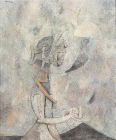 la dama misteriosa by rufino tamayo