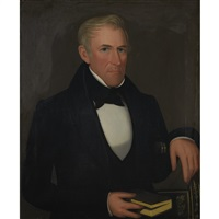portrait of mr. doane of dover plains by ammi phillips