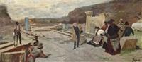 the baths at caracalla- a study by ferdinand heilbuth