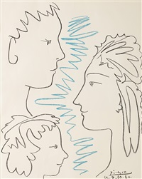 famille by pablo picasso