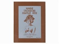 marie trombone chapeau buse by rené magritte