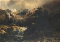 torrent de montagne by alexandre calame