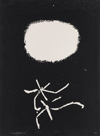 flying lines by adolph gottlieb