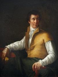 portrait d'homme au gilet jaune by eugènie tripier lefranc