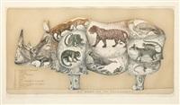 la mémoire du rhinocéros by françois-xavier lalanne