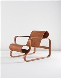 early paimio armchair, model no. 41/83c by alvar aalto