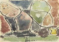 at the end of the pond by arthur dove