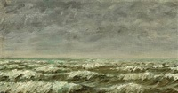 seascape by michael peter ancher
