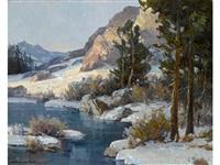 winter, high sierras by jack wilkinson smith