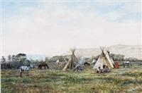 crowe camp by hubert wackermann