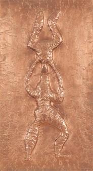 les acrobates by farid belkahia