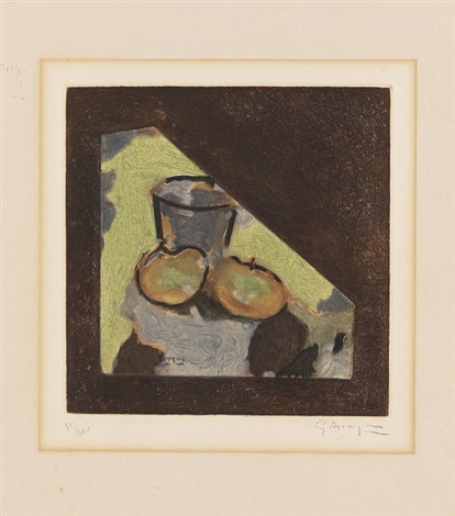 nature morte oblique by georges braque