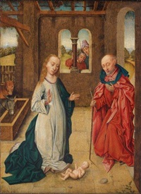 nativité by hans memling