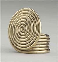 untitled (spiral ring) by alexander calder