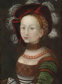 bildnis einer dame by lucas cranach the elder