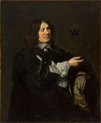 portrait des stephanus geraerdts by frans hals the elder