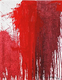 red motive by hermann nitsch