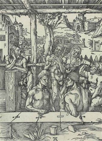 the bath house by albrecht dürer