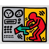 pop shop iii: plate one by keith haring