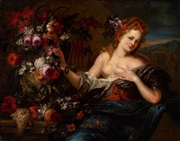 flora - an allegory of spring by peter ykens and gaspar peeter verbruggen the elder