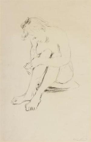 femme nue by edouard vuillard