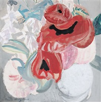 floral still life by frances mary hodgkins