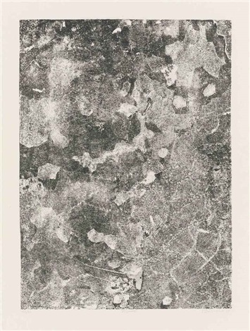 seven plates (from les phénomènes)(7 works) by jean dubuffet
