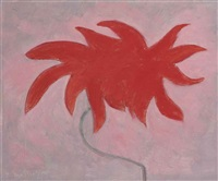 poinsettia by milton avery