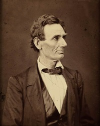 portrait of abraham lincoln by alexander hester and george b. ayres
