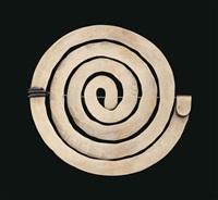 untitled (spiral pin) by alexander calder