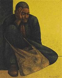 istirahet al-moutassawel (the resting beggar) by louay kayyali