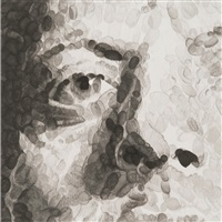 untitled(phil) by chuck close