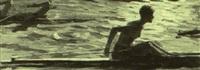 woman rowing by serguei babkov