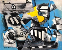 abstract composition by federico aguilar alcuaz
