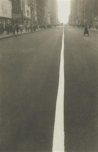 street line, new york (34th street) by robert frank
