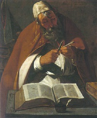 saint ambrose by georges de latour