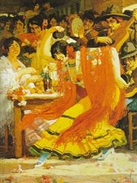 la danseuse de flamenco by marius ernest joseph azema