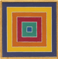 frank stella, untitled by richard pettibone