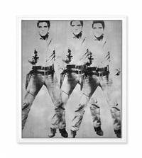 triple elvis (ferus type) by andy warhol