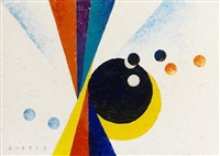 abstraktion by joseph friedrich gustav binder