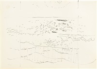 ocean: three drawings by fairfield porter