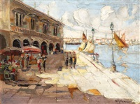 market in venice by rudolph negely