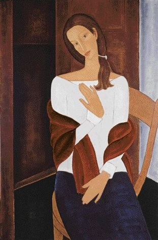 portret kobiecy by roman zakrzewski