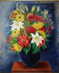 bouquet de fleurs by moïse kisling