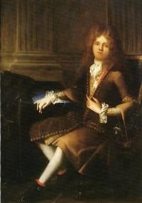 portrait d'homme by antoine rivalz