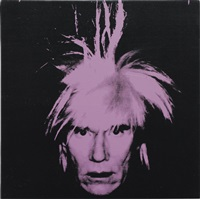 self-portrait by andy warhol