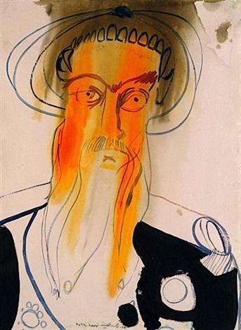 portrait d'homme by rokni haerizadeh