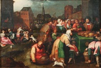 les sept oeuvres de miséricorde (collab. w/studio) by frans francken the younger