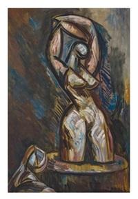 el escultor y su obra by raúl anguiano